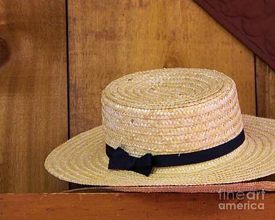 Amish Hat Art Print