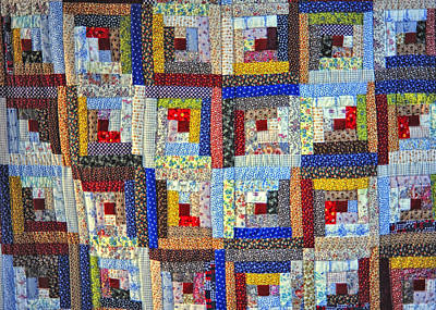 Amish Quilt Art Print by Wendell Thompson