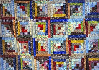 Amish Quilt Art Print