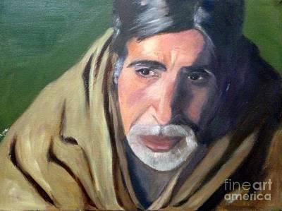 'amitabh Bachchan' Art Print by Keya Majmundar