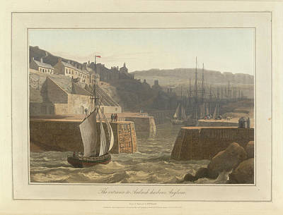 Cymru Photograph - Amlwch Harbour On Anglesey by British Library