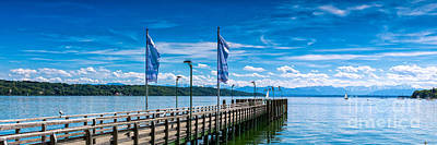 Ammersee - Lake In Bavaria Art Print