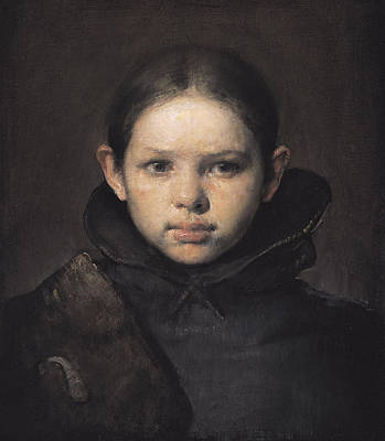 Rembrandt Painting - Amo by Odd Nerdrum