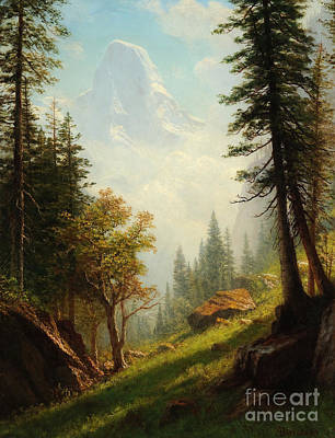 Wyoming Painting - Among The Bernese Alps by Celestial Images