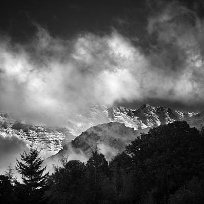 Among The Clouds Print by Guido Montanes Castillo
