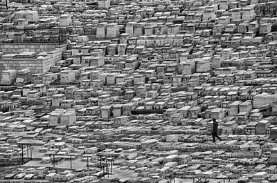 Photograph - Among The Tombs Mount Of Olives Jerusalem Israel by Mark Fuller