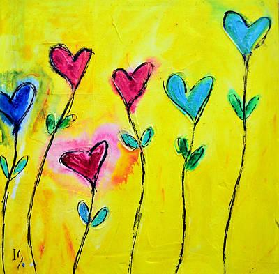 Amor De Colores Art Print