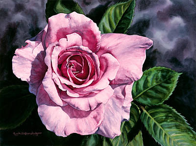 Painting - Amoure by Lynda Hoffman-Snodgrass