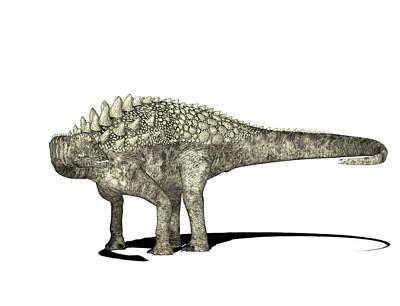 Paleozoology Photograph - Ampelosaurus Dinosaur by Friedrich Saurer