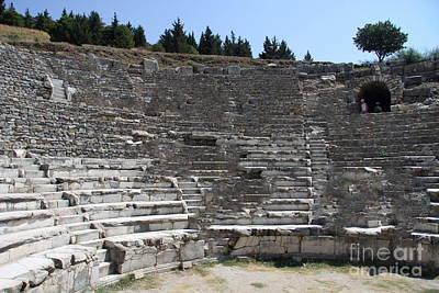 Amphitheater Ephesus Ruins Art Print by Christiane Schulze Art And Photography