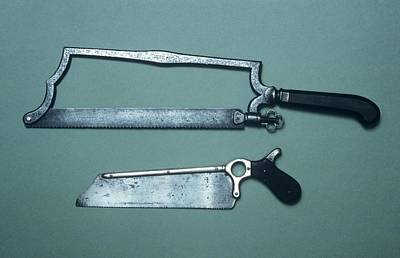 18th Century Photograph - Amputation Saws by Science Photo Library