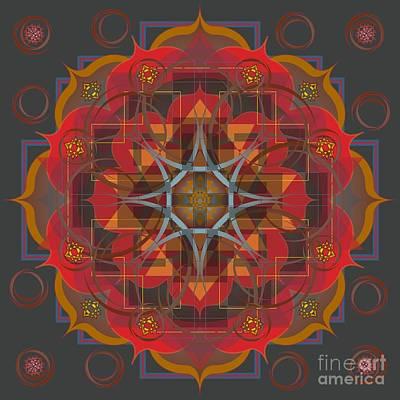 Digital Art - Amrita 2014 by Kathryn Strick