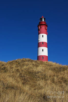 Lighthouse Photograph - Amrum Lighthouse by Angela Doelling AD DESIGN Photo and PhotoArt