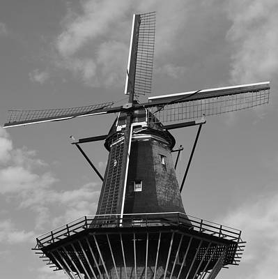 Photograph - Amsterdam Windmill by Cheryl Miller