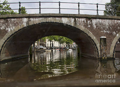Photograph - Amsterdam Arch Bridge - 2 by Crystal Nederman
