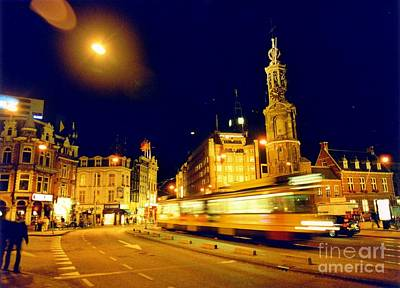 Target Threshold Photography - Amsterdam at Night One by John Malone