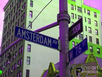 Amsterdam Avenue Art Print