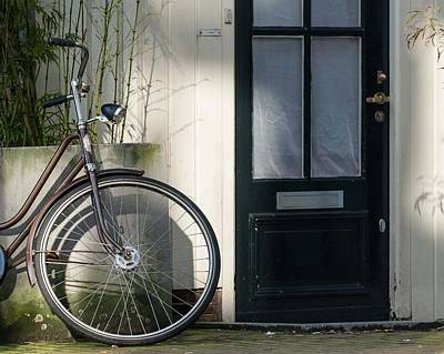 Photograph - Amsterdam Bicycle #1 by Marinus Ortelee