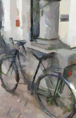 Amsterdam Digital Art - Amsterdam Bike by Yury Malkov