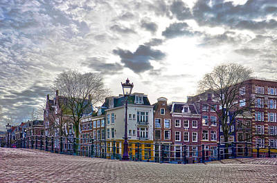 Amsterdam Bridges Art Print by Frans Blok