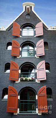 Amsterdam Building Art Print