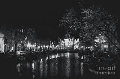 Photograph - Amsterdam By Night by Louise Fahy
