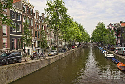 Photograph - Amsterdam Canal - 1 by Crystal Nederman