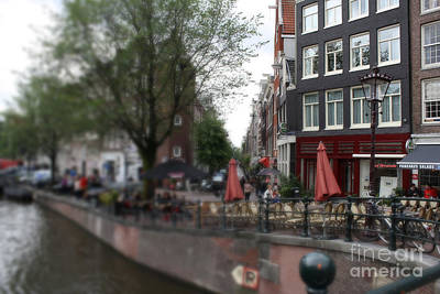 Photograph - Amsterdam Canal by Mary-Lee Sanders