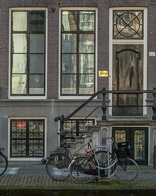 Photograph - Amsterdam Facade #1 by Marinus Ortelee
