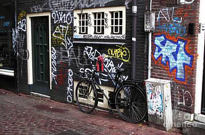 Photograph - Amsterdam Grafiti by John Rizzuto