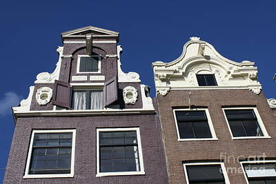 Photograph - Amsterdam Houses by Mary-Lee Sanders
