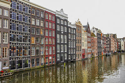Photograph - Amsterdam Houses by Patricia Hofmeester