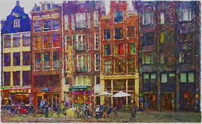 Amsterdam Imressive Art Print