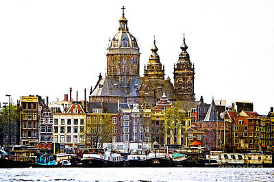 Photograph - Amsterdam In Color by Jill Smith