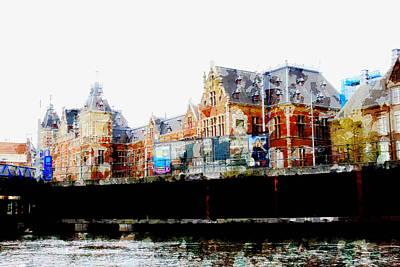 Painting - Amsterdam by John Stuart Webbstock