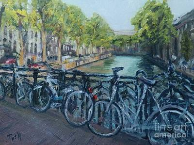 Painting - Amsterdam by Laura Toth