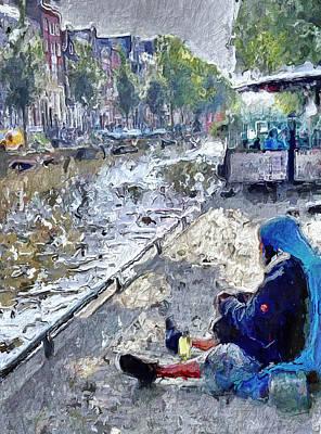 Amsterdam Digital Art - Amsterdam Life 1 by Yury Malkov
