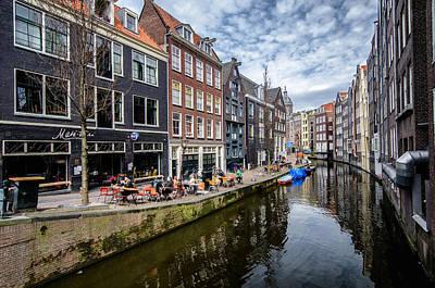 Photograph - Amsterdam by Oleksandr Maistrenko