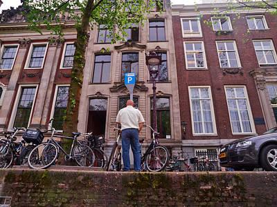 Photograph - Amsterdam P by Jouko Lehto