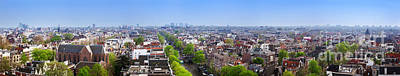 Photograph - Amsterdam Panorama Netherlands by Michal Bednarek