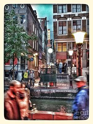 Photograph - Amsterdam Saturday Night by Jill Smith