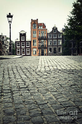 Paving Photograph - Amsterdam Street by Jane Rix