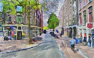 Amsterdam Digital Art - Amsterdam Streets 6 by Yury Malkov