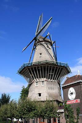 Photograph - Amsterdam Windmill, The Netherlands by Aidan Moran