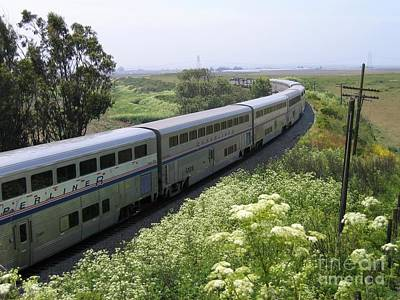 Coast Starlight At Dolan Road Art Print