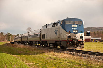 Photograph - Amtrak  by Paul Miller