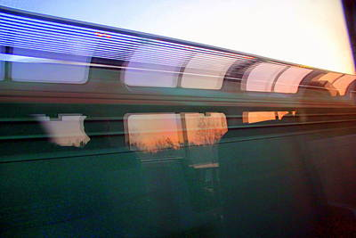 Photograph - Amtrak Series One by A K Dayton