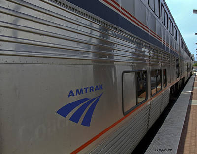 Photograph - Amtrak - Texas Eagle 2 by Allen Sheffield