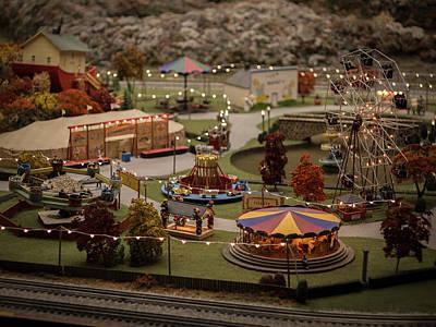 Photograph - Amusement Park by Carl Engman