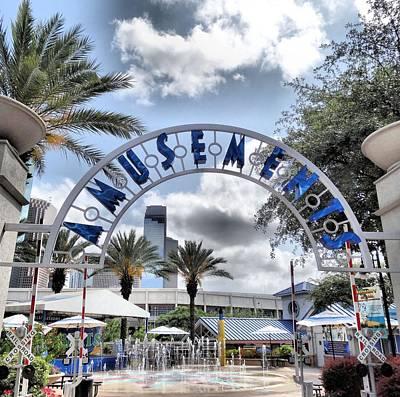 Photograph - Amusement Park by Dan Sproul